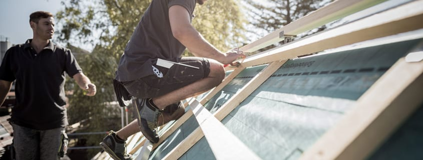 Einen Dachdecker zu finden