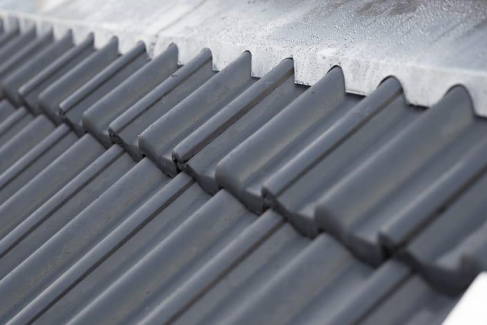 Steildach Dachziegel Verlegt