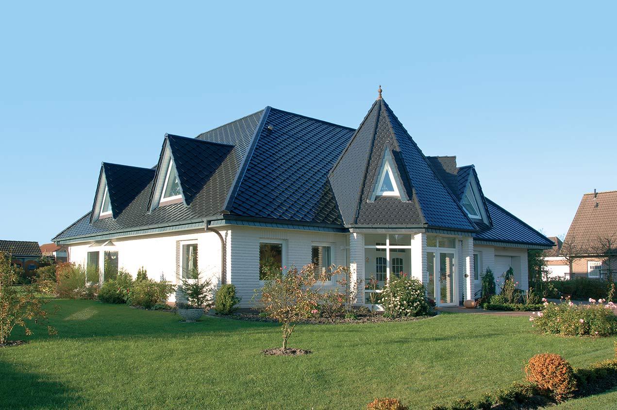 Dachsanierung Musterhaus Schiefer