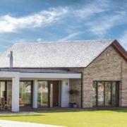 Haus mit Steildach Komponenten