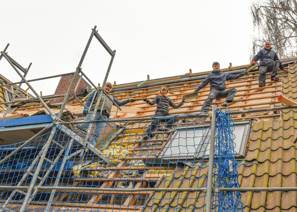 Energetische Dachsanierung nach Marderschaden