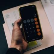 Schwarzes Smartphone