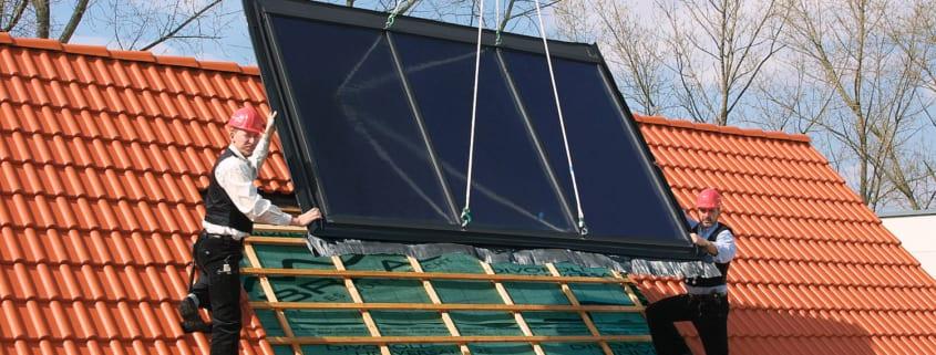 Dachdecker installieren Dachzubehör perfekt abgestimmt