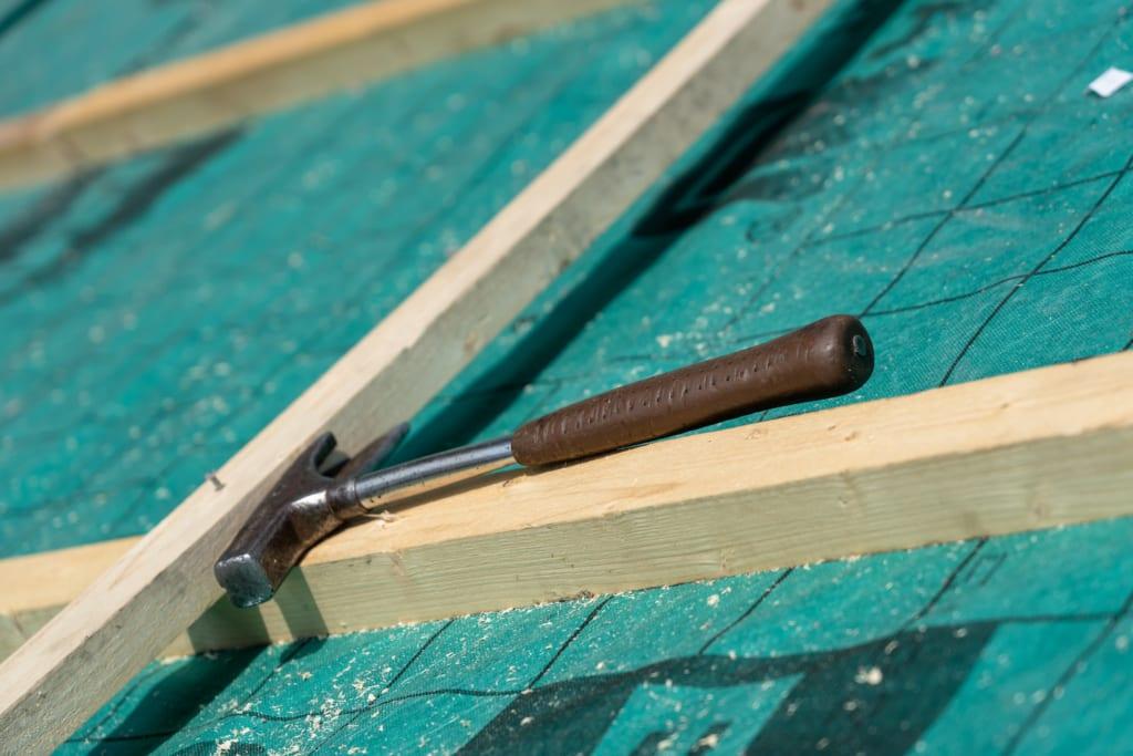 ein Dachdeckerhammer