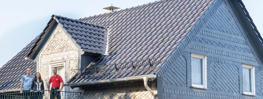 Ein leichtes Dach für ein altes Fachwerkhaus