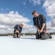 Dachsanierung gewerblicher Gebäude_flachdach