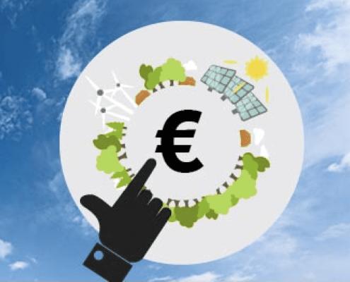Diagramm zur Darstellung des Klimapaketzuschusses für die Dachrenovierung