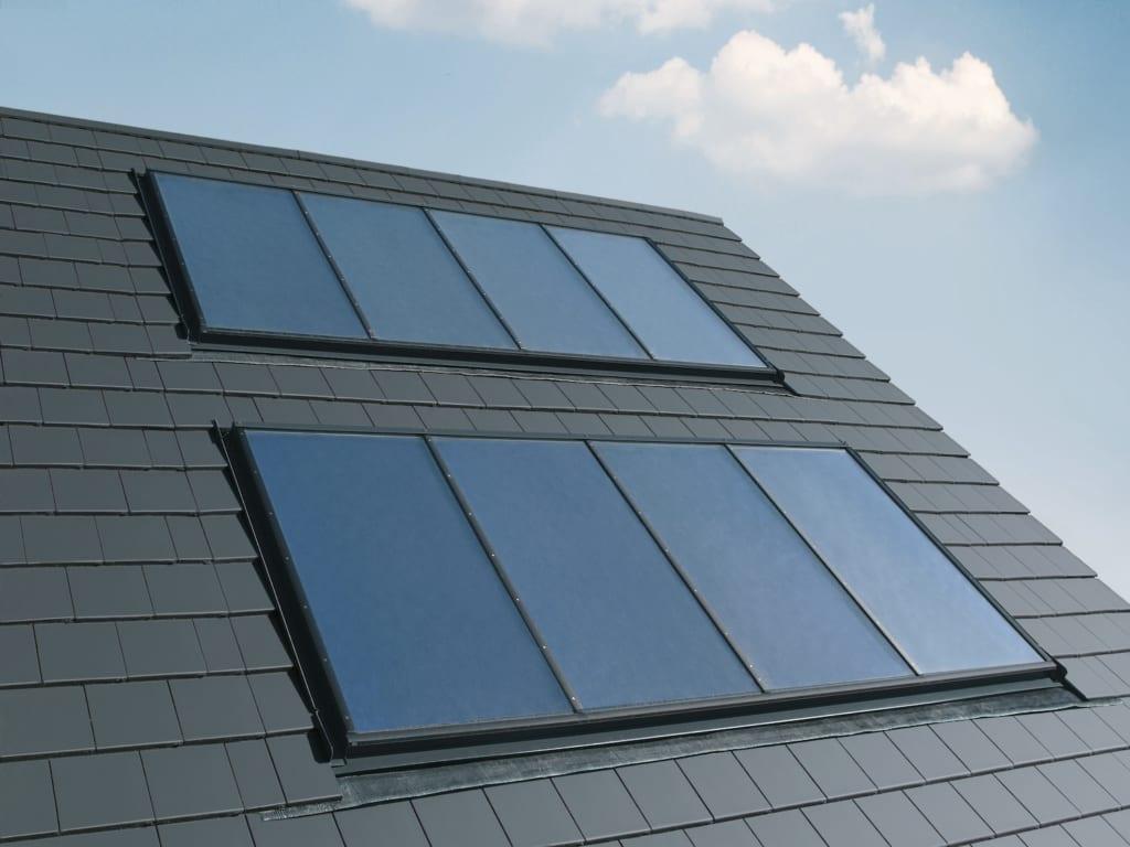 Sonnensystem auf dem Dach finanziert durch Klimapaket