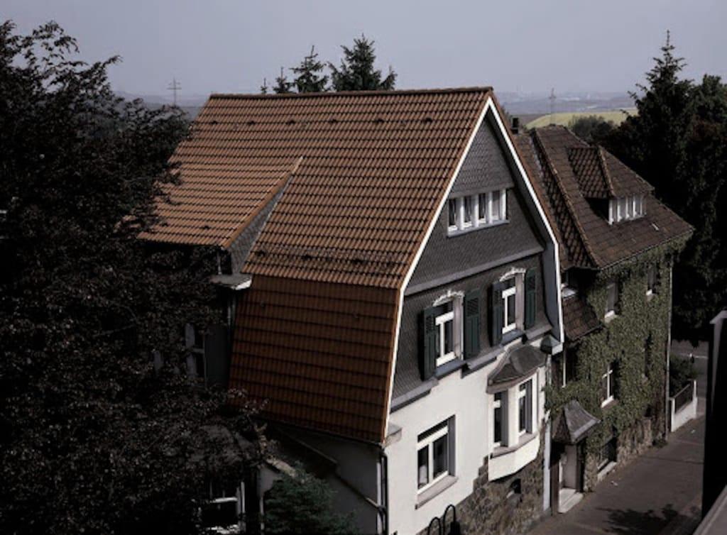 Eine Renovierung in Form eines Mansarddach