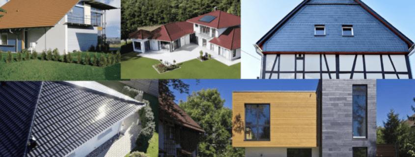 Beliebte Dachformen