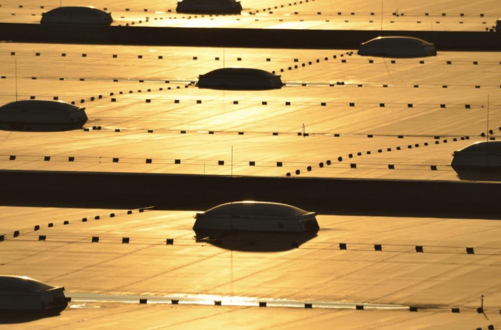 Ein qualitatives Industriedach, bei dem Markenprodukte von einem Meisterbetrieb