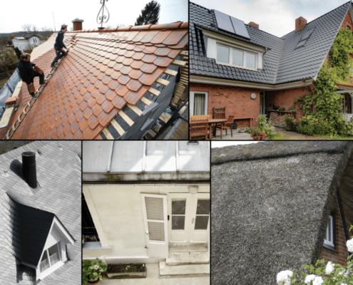 Metall, Ton, Beton, Schiefer oder Stroh - Dacheindeckung die Energieeffizienz