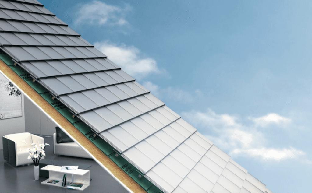 Loftdach außen und innen