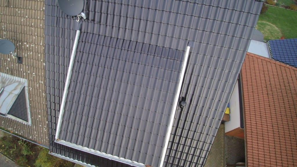 Achten Sie bei der Dachbeschichtung auf hochwertige Materialien.
